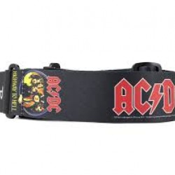 ELECTRIC GUITAR / BASS STRAP ELECTRIC GUITAR / BASS AC / DC HIGHWAY TO HELL