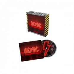 AC / DC 2020 POWER UP LIMITED TO ONE RUN BATTERY POWERED LIGHT BOX CASE SOFT PACK CD 1