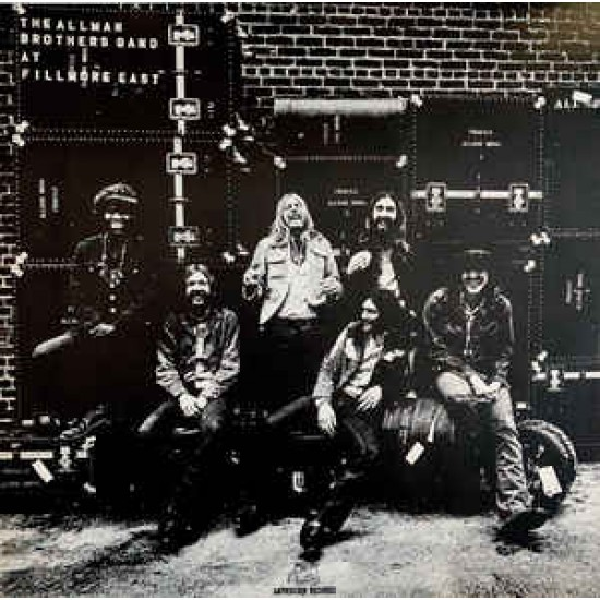 THE ALLMAN BROTHERS AT FILLMORE EAST 2LP