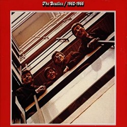 BEATLES THE BEATLES 1962 1966 RED 2 LP