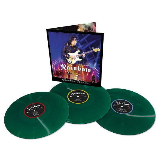 BLACKMORE RITCHIE MEMORIES IN ROCK LIVE IN GERMANY 3 LP COLOR