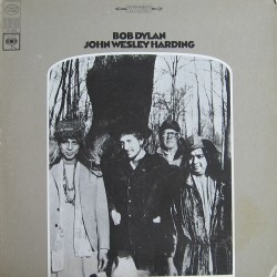 BOB DYLAN JOHN WESLEY HARDING (2010 MONO VERSION) EX-US WHITE VINYL LP