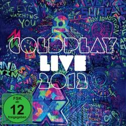 COLDPLAY LIVE 2012 DVD CD