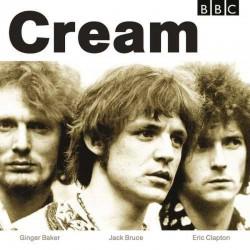 CREAM BBC SESSIONS WHITE & CREAM VINYL 2LP