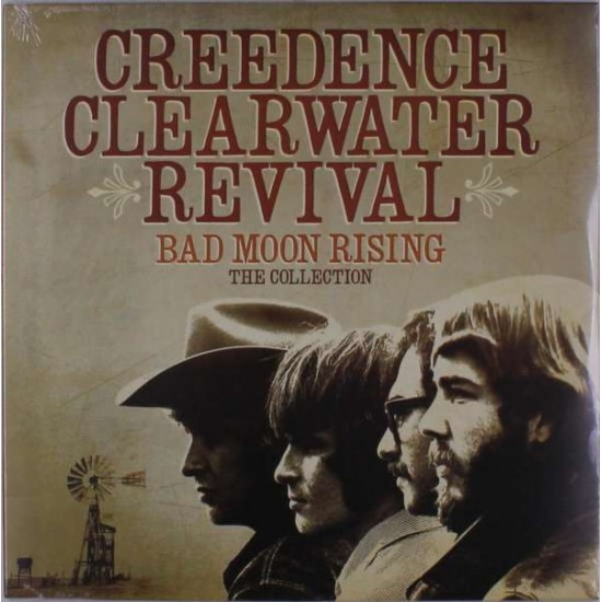 CREEDENCE CLEARWATER REVIVAL BAD MOON RISING THE COLLECTION LP