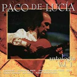 DE LUCIA PACO PACO DE LUCIA ANTOLOGIA CD