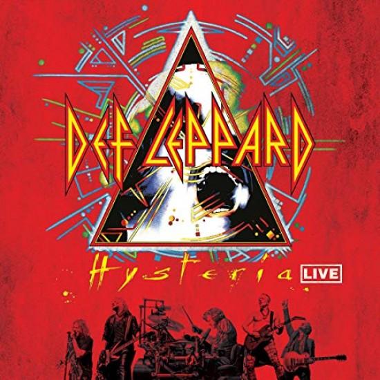 DEF LEPPARD HYSTERIA LIVE 2 LP