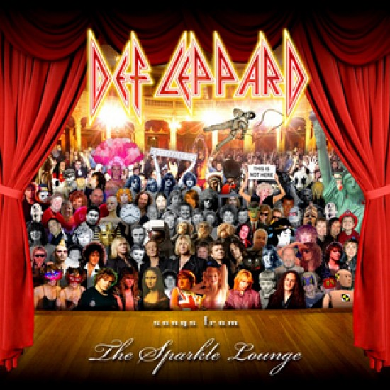 DEF LEPPARD SONGS FROM THE SPARKLE LOUNGE LP