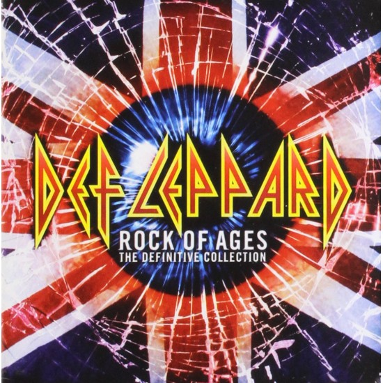 DEF LEPPARD ROCK OF AGES THE DEFINITIVE COLLECTION 2 CD