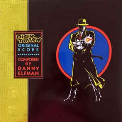 DANNY ELFMAN DICK TRACY (OST) 1LP LIMITED BLUE
