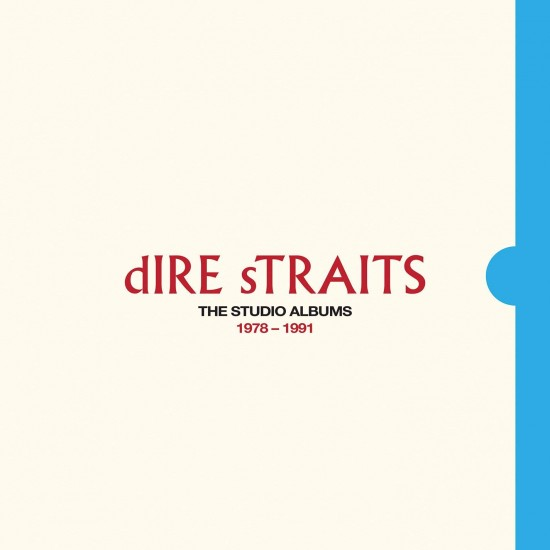DIRE STRAITS THE STUDIO ALBUMS 1978 1991 6 CD BOX