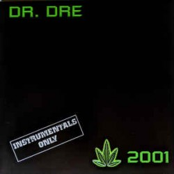 DR DRE 2001 INSTRUMENTALS 2 LP