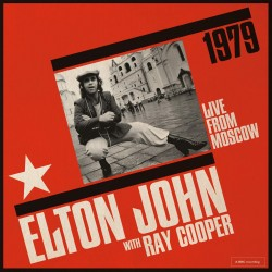 ELTON JOHN with RAY COOPER LIVE FROM MOSCOW CD
