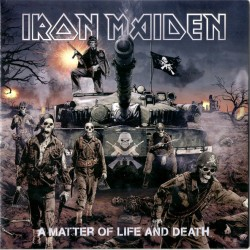 IRON MAIDEN A MATTER OF LIFE AND DEATH 2 LP