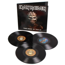 IRON MAIDEN THE BOOK OF SOULS 3 LP