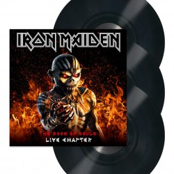 IRON MAIDEN THE BOOK OF SOULS LIVE CHAPTER 3 LP