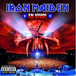 IRON MAIDEN EL VIVO 3 LP