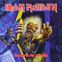 IRON MAIDEN NO PRAYER FOR THE DYING LP
