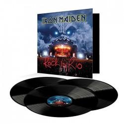IRON MAIDEN ROCK IN RIO 3 LP