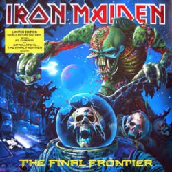 IRON MAIDEN THE FINAL FRONTIER 2 LP