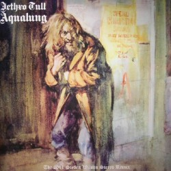 JETHRO TULL AQUALUNG LP LIMITED +  BOOK