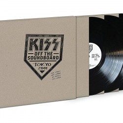 KISS KISS OFF THE SOUNDBOARD: TOKYO 2001 3 LP