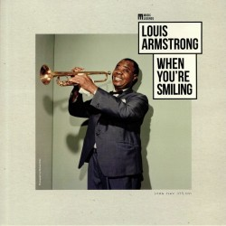 LOUIS ARMSTRONG WHEN YOU RE SMILING LP