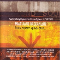 PASCHALIDIS MILTOS TEN YEARS HAVE PASSED LIVE 2 CD