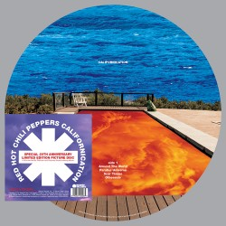 RED HOT CHILLI PEPPERS CALIFORNICATION 2LP PICTURE LIMITED