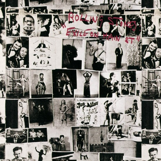 ROLLING STONES EXILE ON MAIN STREET LP
