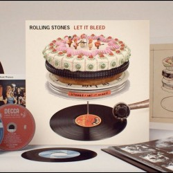 ROLLING STONES LET IT BLEED 50 th ANNIVERSARY SUPER DELUXE BOX LP CD