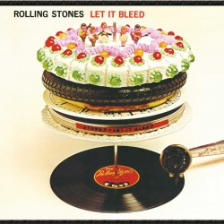 ROLLING STONES LET IT BLEED 50 th ANNIVERSARY LP