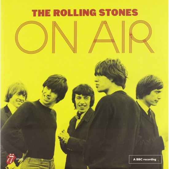 ROLLING STONES ON AIR 2LP YELLOW