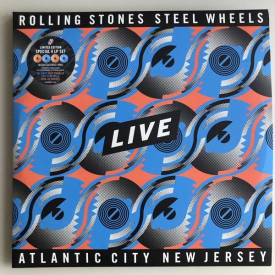 ROLLING STONES STEEL WHEELS LIVE 4 LP