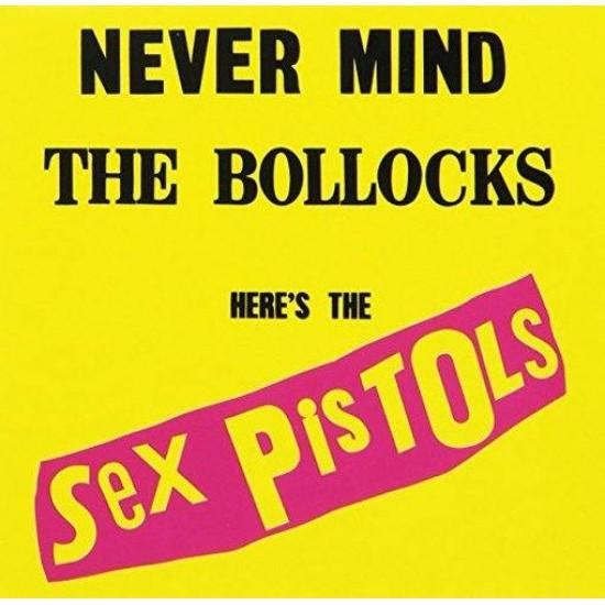 SEX PISTOLS NEVERMIND THE BOLLOCKS HERE S THE SEX PISTOLS LP