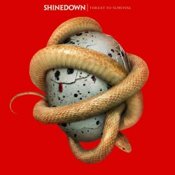 SHINEDOWN THREAT TO SURVIVAL LP LIMITED RED