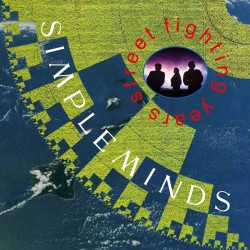 SIMPLE MINDS STREET FIGHTING YEARS 2LP