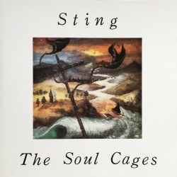 STING THE SOUL CAGES LP
