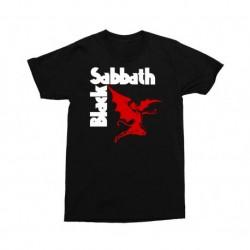 BLACK SABBATH T SHIRT DEVIL LOGO MALE L