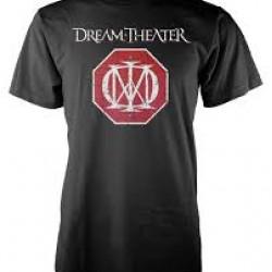 DREAMTHEATER T SHIRT RED LOGO MALE L