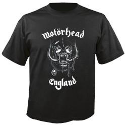 MOTORHEAD T SHIRT ENGLAND MALE S
