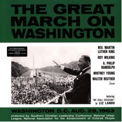 VARIOUS ARTISTS THE GREAT MARCH ON WASHINGTON LP