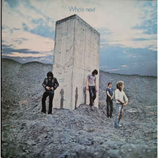 THE WHO WHO S NEXT LP