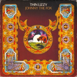 THIN LIZZY JOHNNY THE FOX LP