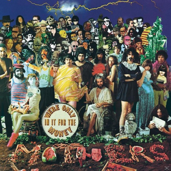 ZAPPA FRANK WE ARE ONLY IN IT FOR THE MONEY 2LP