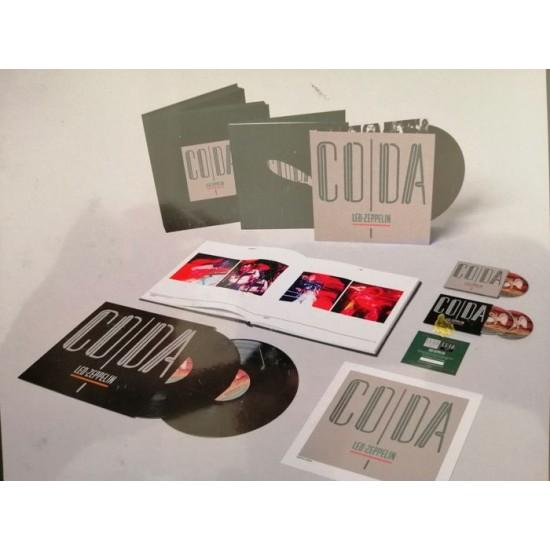 LED ZEPPELIN CODA SUPER DELUXE EDITION 9 BOX