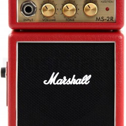 MARSHALL 2 W MS 2R MICRO AMP RED ELECTRIC GUITAR AMPLIFIER