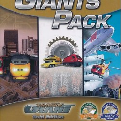 GIANTS PACK TRAFFIC GIANT GOLD EDITION PC DVD ROM ONLY DVD COMPATIBLE