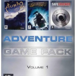 ADVENTURE GAME PACK VOLUME 1 PC DVD ROM ONLY DVD COMPATIBLE