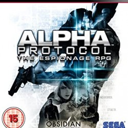 ALPHA PROTOCOL THE ESPIONAGE RPG OBSIDIAN PS3